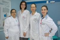 Colaboradoras do HRSP fazem exames gratuitos no Outubro Rosa