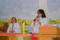 Equipe de Espiritualidade e Grupo Corações em Canto animam celebração em honra a São Lucas