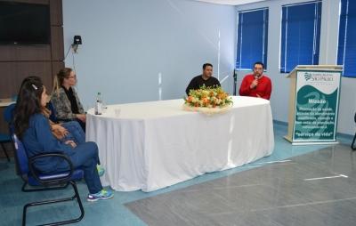 Grupo Condutor da Rede Cegonha realiza encontro multiprofissional com profissionais de saúde no HRSP