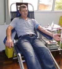 113 bolsas de sangue são coletadas durante a primeira campanha de doação em Xanxerê